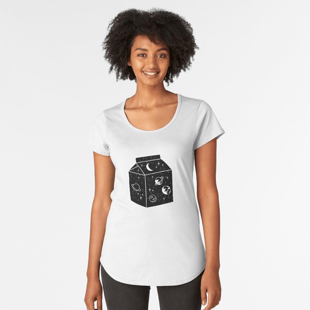 Milky way Premium Scoop T-Shirt