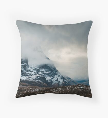 The Mists of Glen Coe Throw Pillow