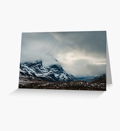 The Mists of Glen Coe Greeting Card