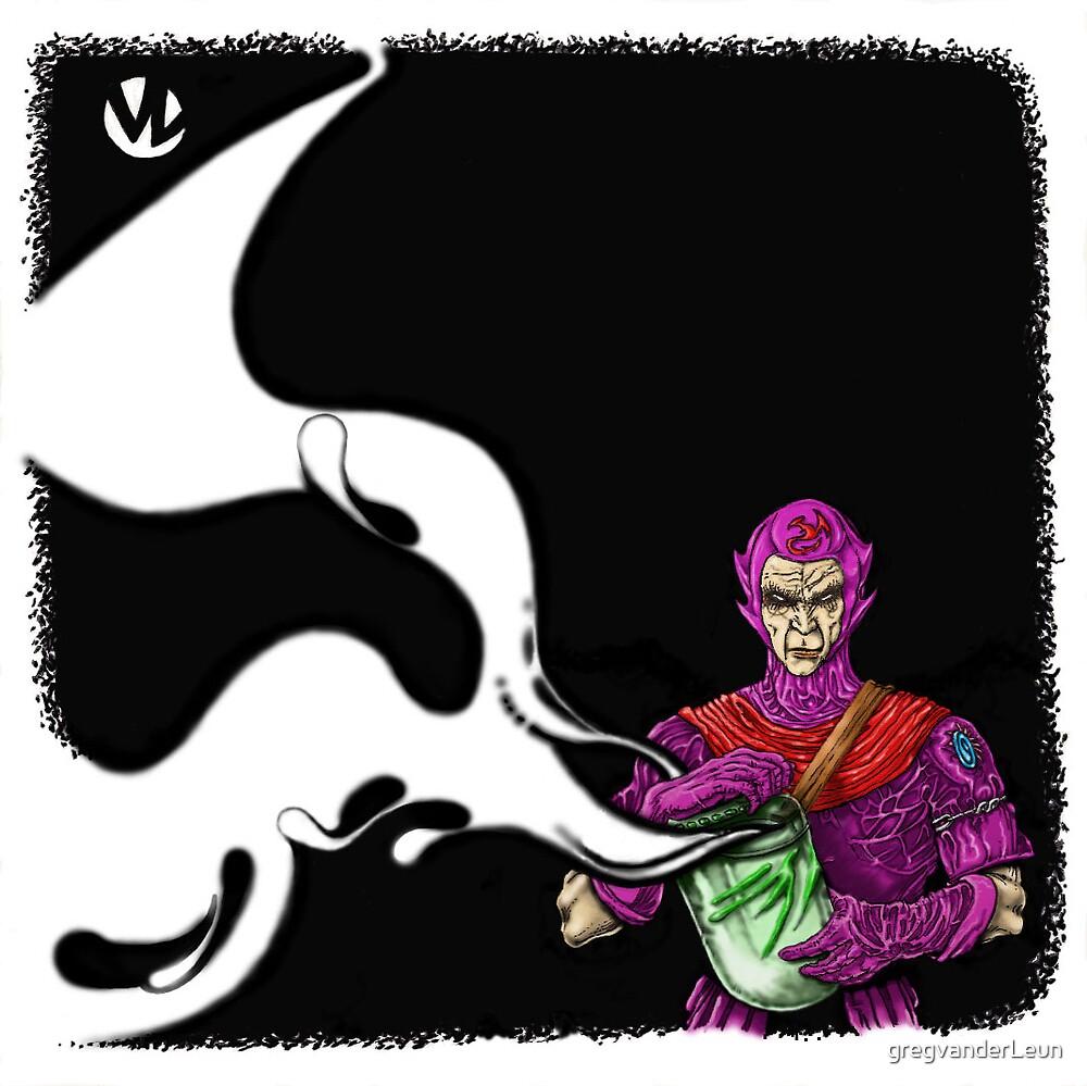 Wizard & Jar by gregvanderLeun