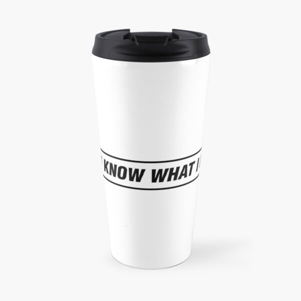 Oasis - D'You Know What I Mean? Travel Mug