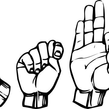 GTFO Sign Language by thehiphopshop