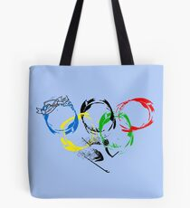 the winter olympic games Tote Bag