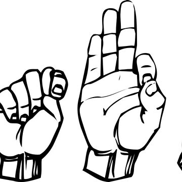 RTFM Sign Language by thehiphopshop
