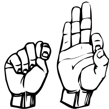STFU Sign Language by thehiphopshop