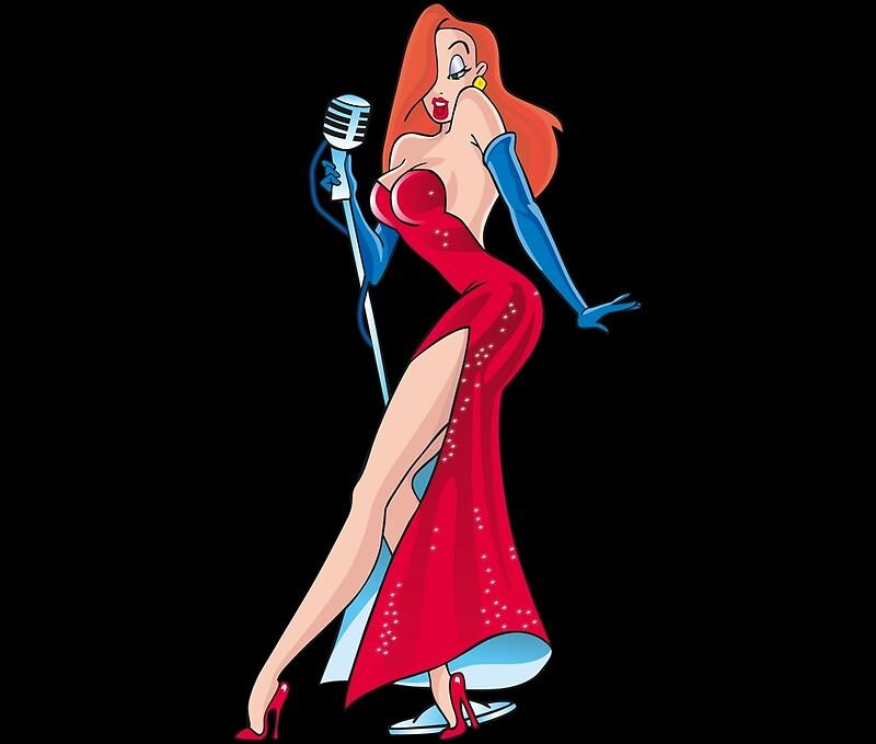 Jessica Rabbit: Poster | Redbubble