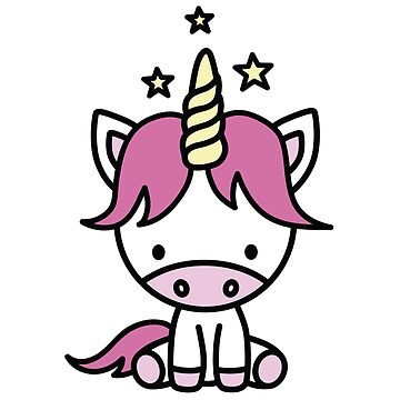 Cute unicorn for kids by LaundryFactory