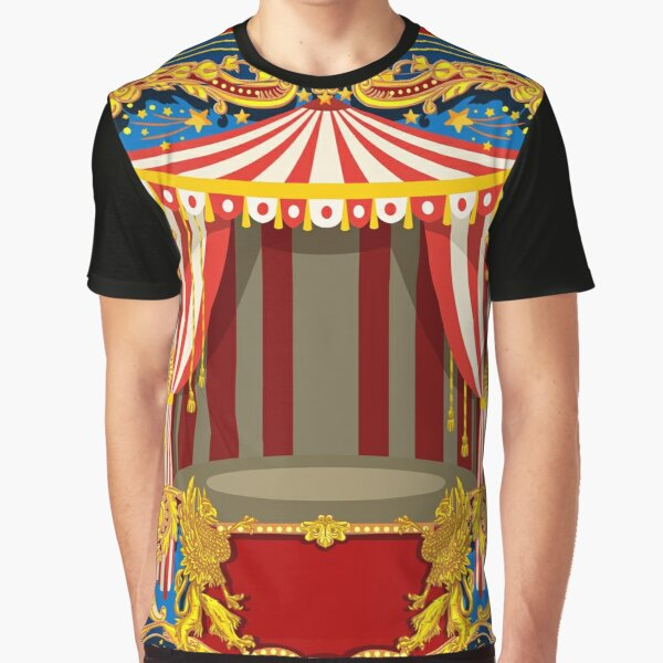 Carnival Circus Vintage Graphic T-Shirt