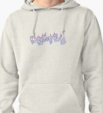 Nekflamme bleu violet Pullover Hoodie