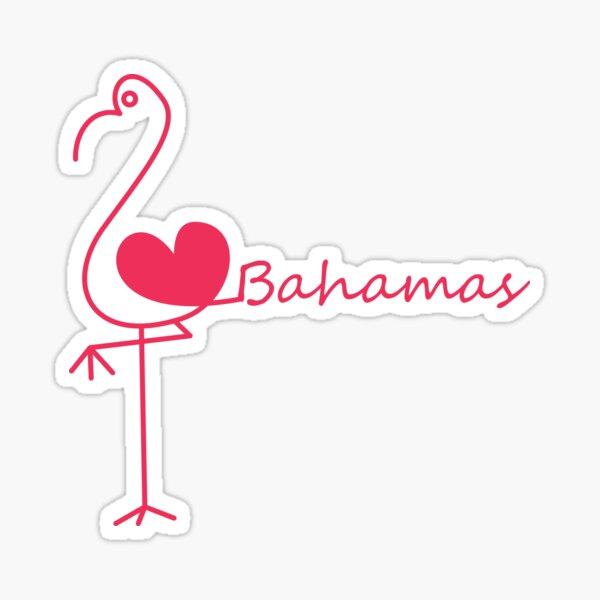I love Bahamas Sticker