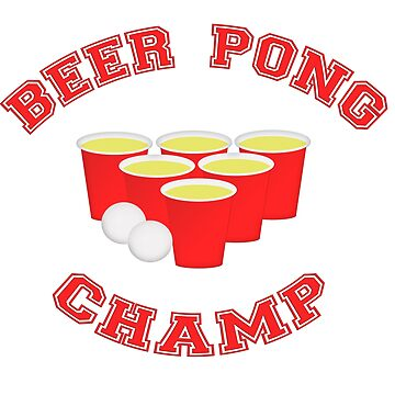 Beer Pong Champ Cups and Balls by carolina1