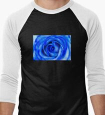 Abstract Macro Blue Rose T-Shirt