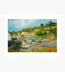 Cadgwith Cove Art Print