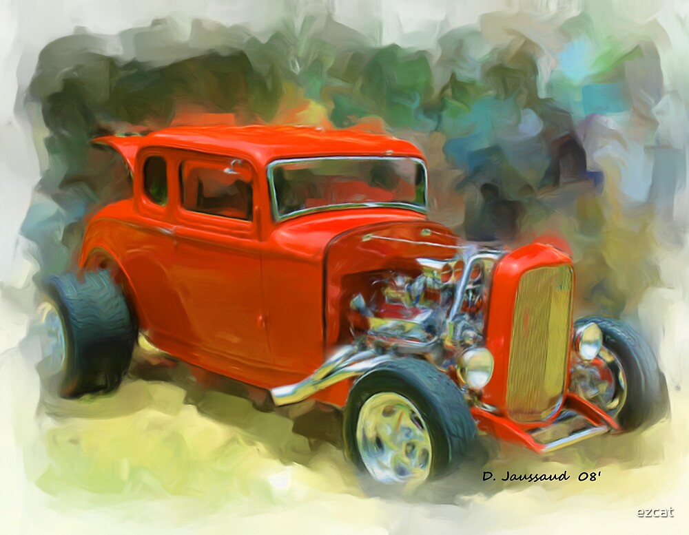 32 Ford 5 Window Coupe by ezcat
