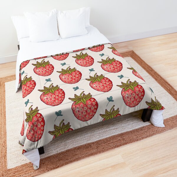 strawberry fields Comforter