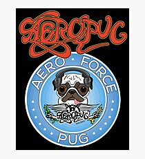 Aero Force Pug Photographic Print