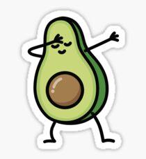 Avocado dab dabbing Sticker