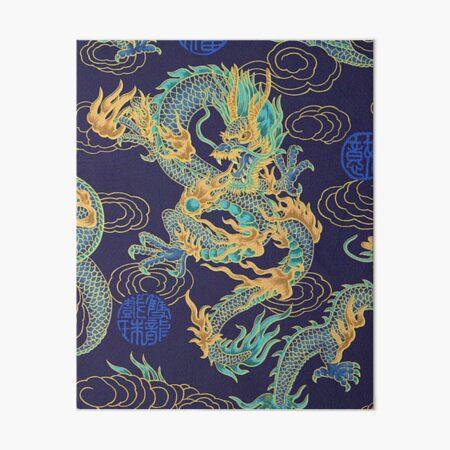 Dragon Art Board Print
