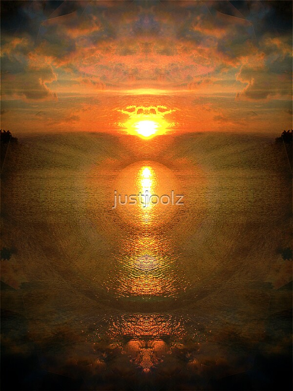 Sunset Mandala by justjoolz