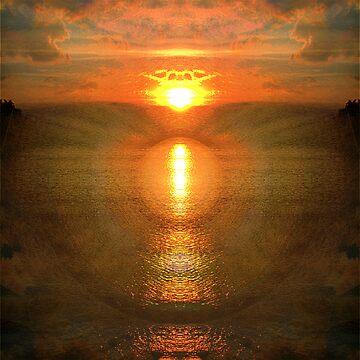 Sunset Mandala by justjoolz