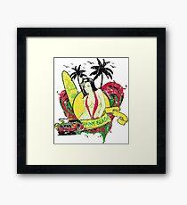 Sunny Beach Framed Print