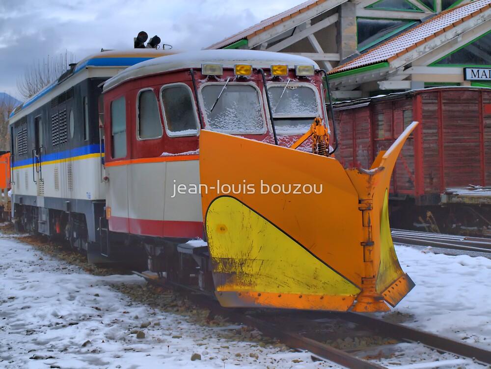 """The """"Train des Pignes"""" in Puget-Theniers train station by jean-louis bouzou"""