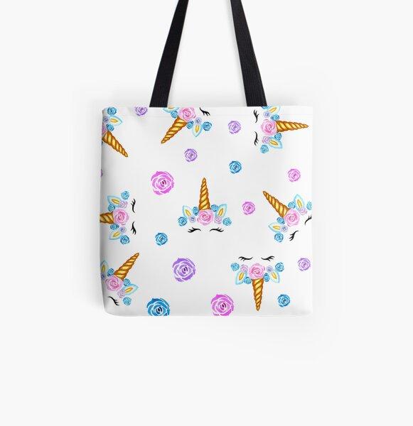 Unicorn All Over Print Tote Bag
