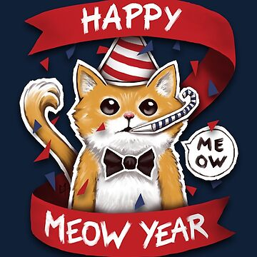Happy Meow Year by c0y0te7