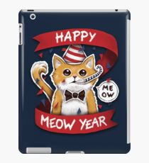 Happy Meow Year iPad Case/Skin