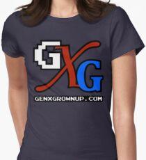 GenXGrownUp GXG Logo Women's Fitted T-Shirt