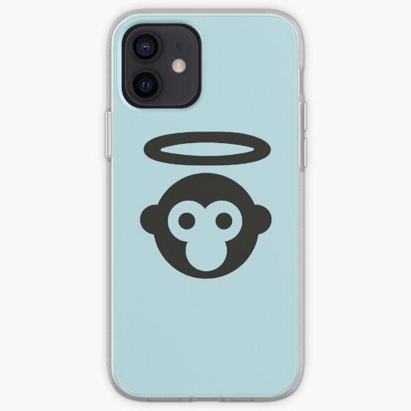 """pero diseños icónicos inspirados en grandes títulos de canciones: Pixies """"Monkey Gone to Heaven"""". Funda blanda para iPhone"""