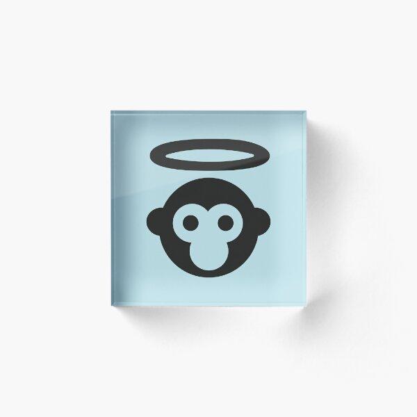 Monkey Gone to Heaven Acrylic Block
