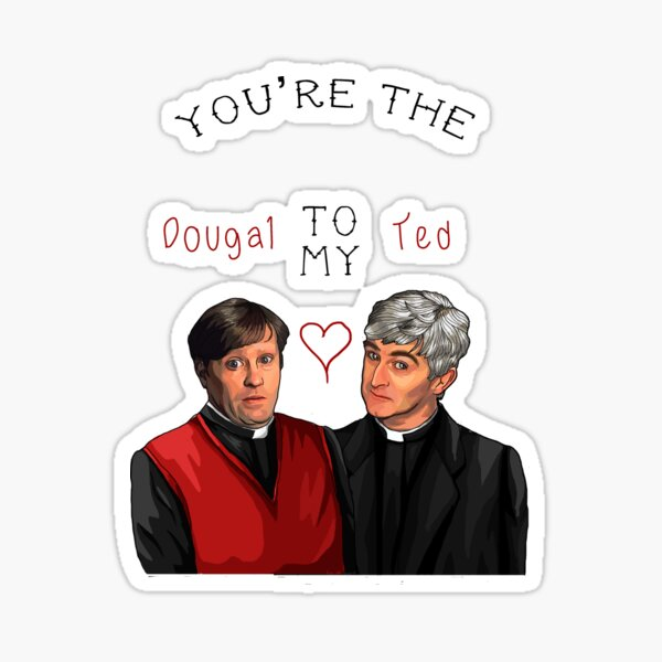 Father Ted Valentines Sticker
