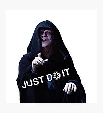 Just Do it Darkside Photographic Print
