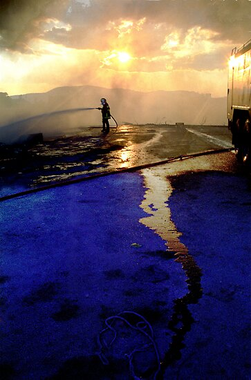 Fireman by Vivi Kalomiri