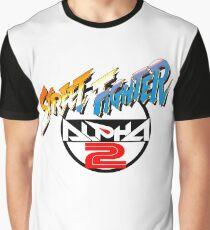 Street Fighter Alpha 2 Logo Graphic T-Shirt