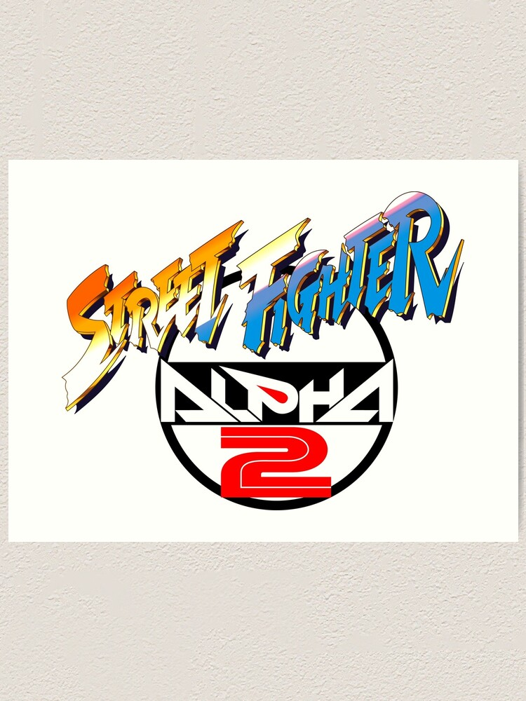 street fighter alpha 2 logo