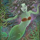 Maya as Mermaid by judecowell