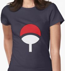 Uchiha clothes Women's Fitted T-Shirt