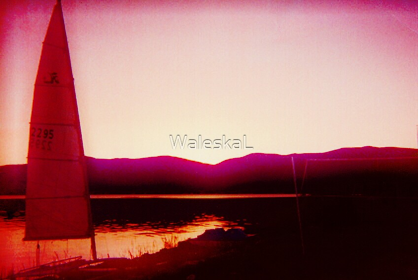 BearLake At Sunset by WaleskaL