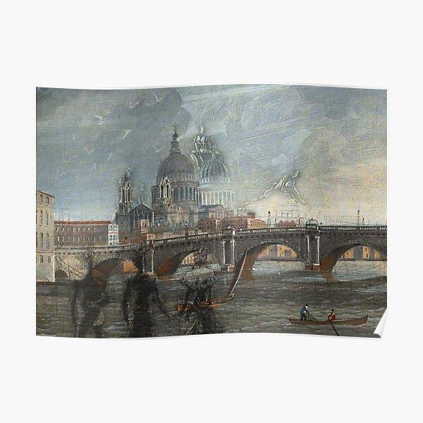 Black friars Bridge Poster