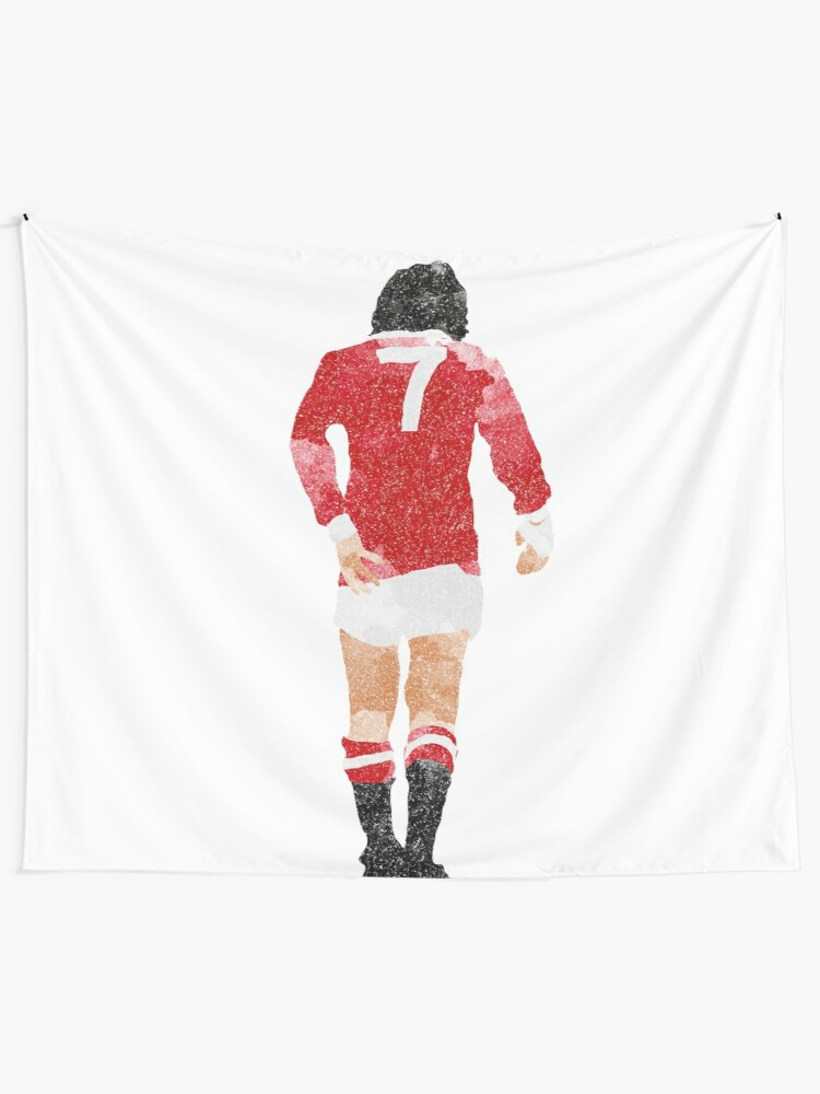 differently 8e4b4 c584d George Best watercolour Manchester United Football Northern Ireland Legend  number 7 Man United Red Devils Winger United Trinity Old Trafford | Wall ...