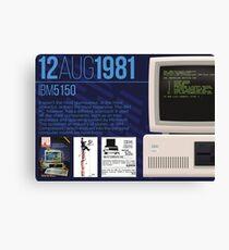 IBM 5150 - Computing History Canvas Print