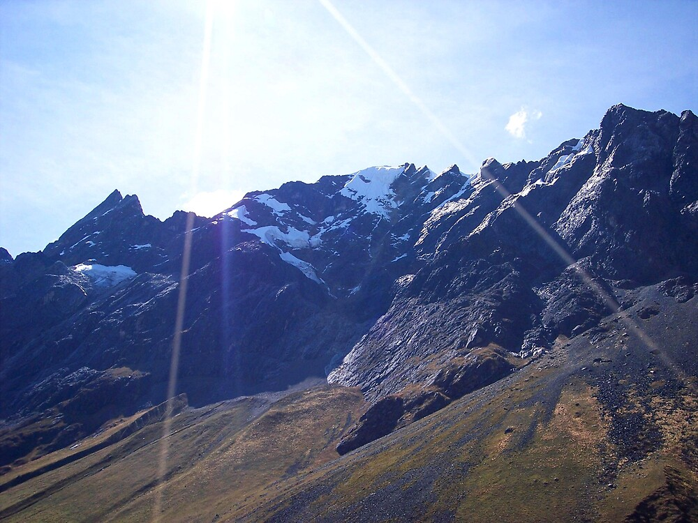 Glaciers in the Andes by Braedene