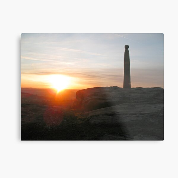Nelson's Monument Metal Print