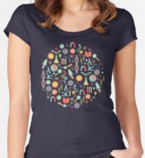 Science Studies Women's Fitted Scoop T-Shirt