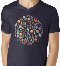 Science Studies Men's V-Neck T-Shirt