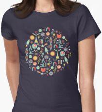 Wissenschaftsforschung Tailliertes T-Shirt für Frauen
