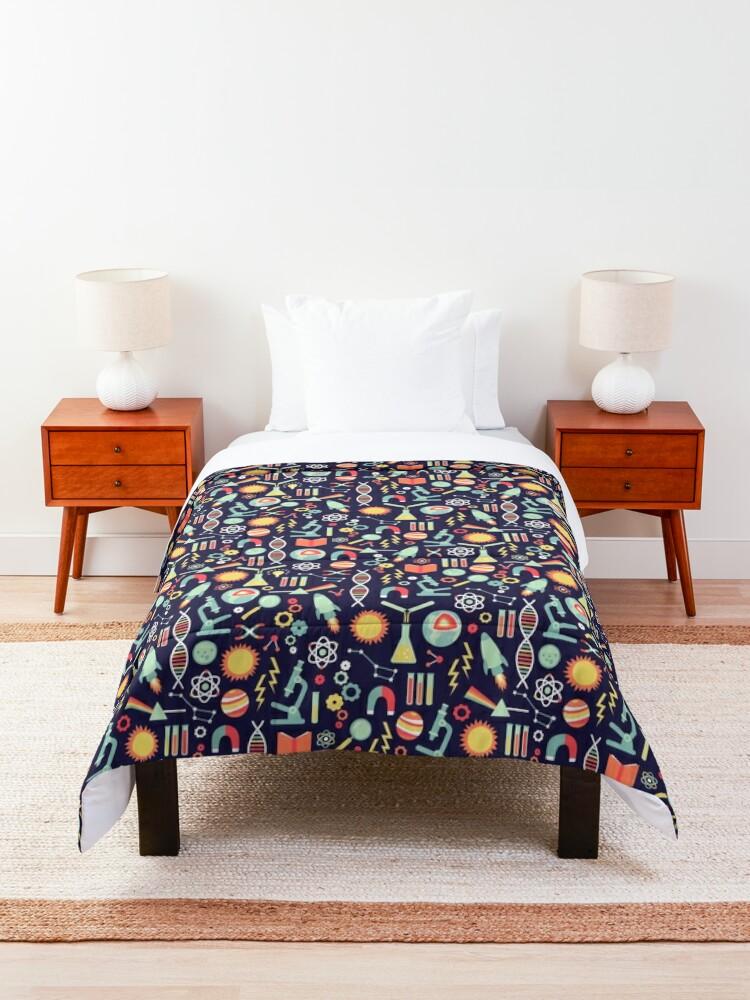 Alternate view of Science Studies Comforter