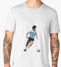 Diego Maradona (Argentina) Men's Premium T-Shirt